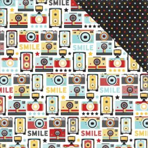 Papel para scrapbooking Echo Park Smile For The Camera