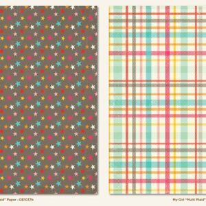 Papel para scrapbooking My Mind`s Eye Multi Plaid