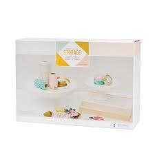 Desktop Storage - CP - Storage - Ceramic Stands (2 Piece) - P
