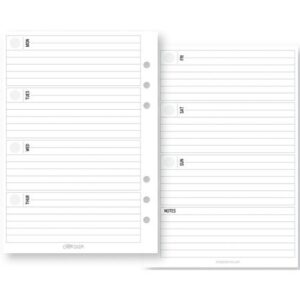 Planner Essentials Horizontal Format Weekly Inserts - P