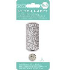Stitch Happy - Bakers Twine Gray (2 Piece) - P