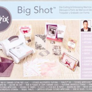 Big Shot Starter Kit inspired by David Tutera (White & Gray) - P