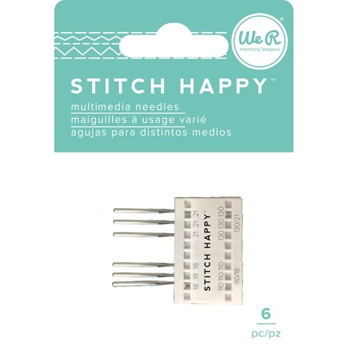 Stitch Happy - Needles - (6 Piece) - P