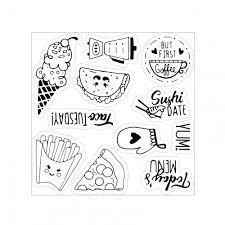 Sizzix Framelits Die Set 13PK w/Stamps - Foodie Planner by Katelyn Lizardi - P