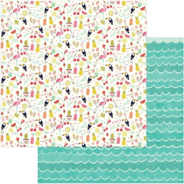 Papel para scrapbooking Photoplay For the Love of Summer Cool Off
