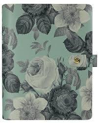 Mint Vintage Floral Personal Planner - P