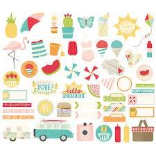 Bits & Pieces - Summer Days - P