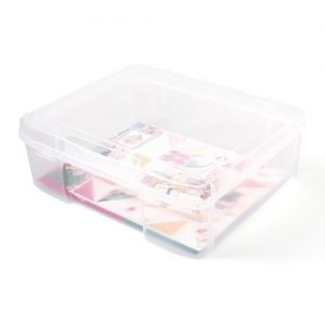 Craft Storage Bins - Photo - Large Case - 17x15x6 - P