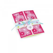 Thinlits Die Set 3PK - Half Card Panels by Stephanie Barnard - P