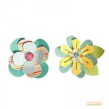 Sizzix Thinlits Die Set 7PK - Simple Flowers 2 by Lori Whitlock