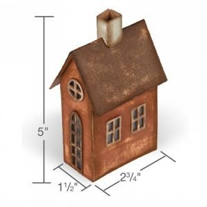 Sizzix Bigz XL Die - Village Brownstone by Tim Holtz - P