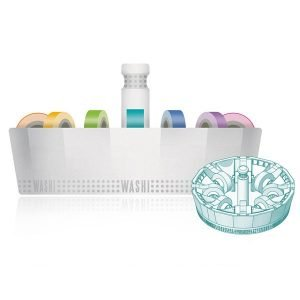 Washi Dispenser Kit with 16 washi tapes - P