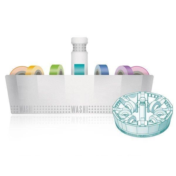 Washi Dispenser Kit with 16 washi tapes - P