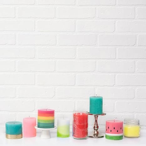 Accessories Candle Mold - Geometric - P
