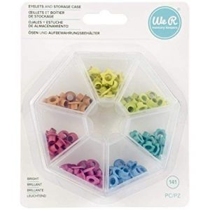 Crop-A-Dile - Eyelet Storage - Bright (141 Piece) - P