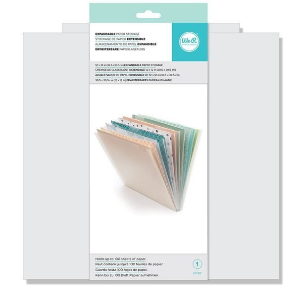 Expandable Paper Storage - P