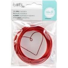 Happy Jig - Color Wire - Red - 6 yds - P